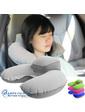 Дорожная подушка для путешествий с подголовником + чехол, серый цвет