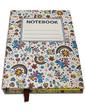 Старт-Полиграф Блокнот со стикерами Post-it, в твердой обложке «Веселка» в комплекте с чехлом