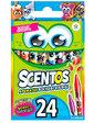 Scentos Дружеская компания, ароматные восковые мини-карандаши (24 цвета),
