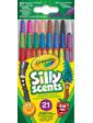 Crayola Выкручивающиеся ароматизированные восковые мелки (21 шт), Silly Scents,