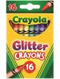 Crayola Цветные восковые мелки с блесточками Glitter Crayons (16 шт),