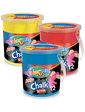 Colorino Мелки цветные Jumbo в ведерке (12 штук, 6 цветов),