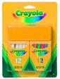 Crayola Мелки белые и цветные с губкой (24 шт),