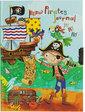 Malevaro Блокнот на замочке Pirates Journal,