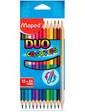 Maped Карандаши двухсторонние Color Peps Duo 12 шт. 24 цвета,