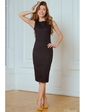 Vilenna Эффектное платье-футляр без рукавов. Артикул: 3476