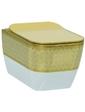 Idevit Halley Iderimless 3204-2616-1101 белый/декор золото