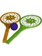 MAXIMUS Набор для тенниса большой, желтый с зеленым, (5186)