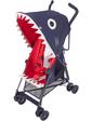 Maclaren Прогулочная коляска SHARK, синяя с рисунком, (WM1Y105092)