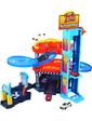 BBURAGO Игровой набор - ПАРКИНГ (3 уровня, 2 машинки 1:43) (18-30361)