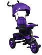 Best Trike Трехколесный велосипед 6699, фиолетовый, черная рама, (56673)