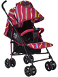 joy Прогулочная коляска S 608 (2), красная с рисунком, (47974)