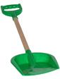 Технок Лопатка малая с деревянной ручкой, зеленый, (2896)