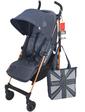 Maclaren Прогулочная коляска QUEST DENIM STYLE SET INDIGO, (WD1G633312)