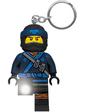 Lego Брелок - фонарик Ниндзяго Джей, (LGL-KE108J)