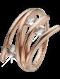 Christina Charms Кольцо CC 800-4.1.C/51 Balance Love rose silver