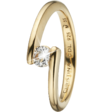 Christina Charms Кольцо CC 800-3.14.B/57 Supernova goldpl silver