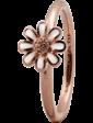 Christina Charms Кольцо CC 800-1.9.C/55 Marguerite enamel rose goldpl