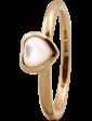 Christina Charms Кольцо CC 800-1.3.B/53 Heart mother of pearl goldpl