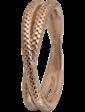 Christina Charms Кольцо CC 800-1.11.C/55 Twin Snake rose