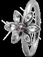 Christina Charms Кольцо CC 800-3.6.A/51 Marquise Flower silver